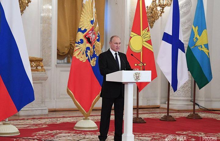 Putin Peterburgdagi portlashni terakt deb atadi