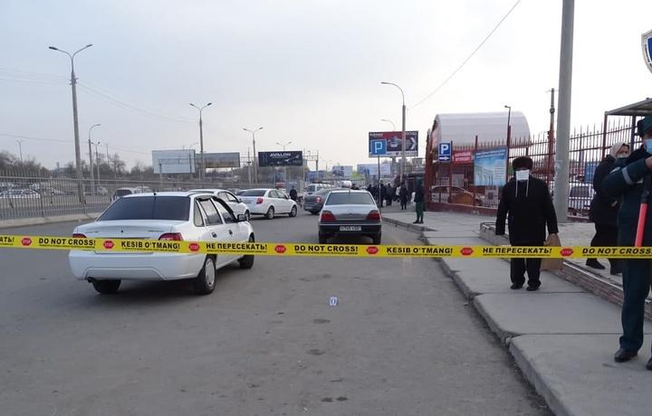 Около «Ташкентского торгового центра» угнали автомобиль «Nexia 2»