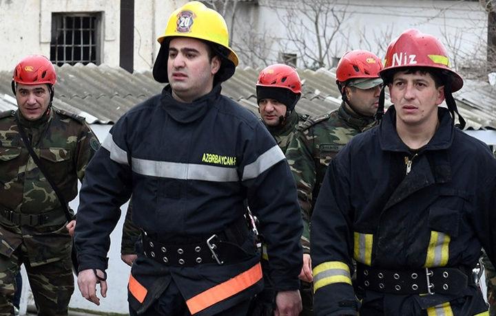 На аварийной ТЭС в Азербайджане произошел пожар