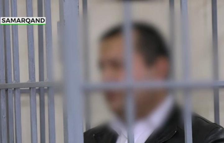Samarqandda odamlar ko'z o'ngida ayoli va uning «jazmani»ni o'ldirgan erkakka hukm o'qildi