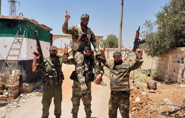Войска Асада заняли Бусру аль-Харири