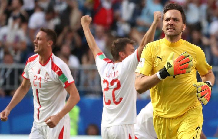 Сборная Сербии обыграла Коста-Рику в матче ЧМ-2018