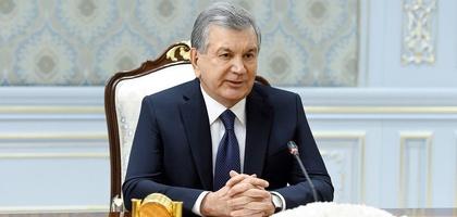 Shavkat Mirziyoyev AQSh Qurolli kuchlari qo'mondonini qabul qildi