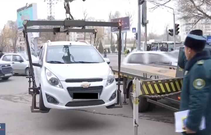 Тақиқланган жойга машина қўйганларга қарши «ов» бошланди (видео)