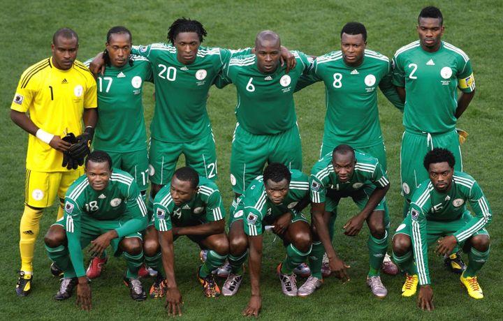 Сборная Нигерии по футболу прибыла в Россию на ЧМ-2018