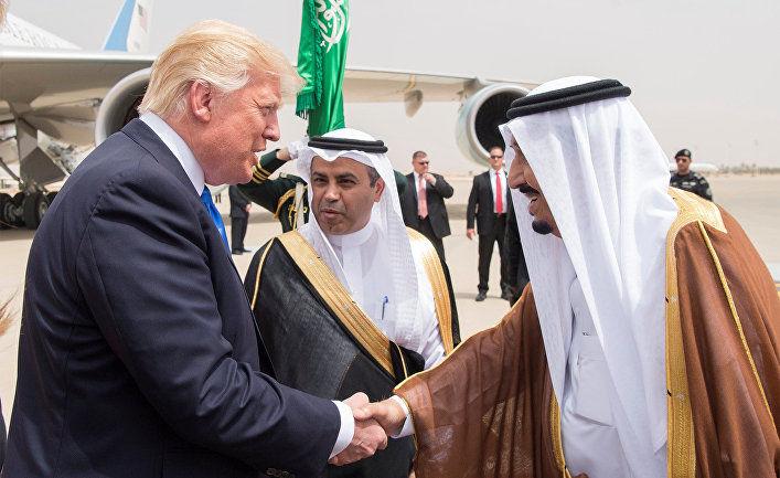 Трамп қиролдан нефть ишлаб чиқаришни кўпайтиришни сўради