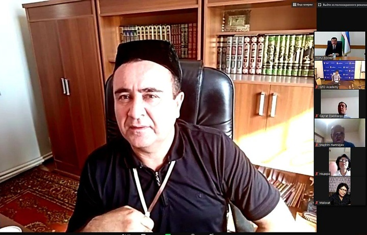 Musulmonlar idorasi vakillari oliy ta'limdagi korrupsiyaga qarshi kurash muhokamasida qatnashdi