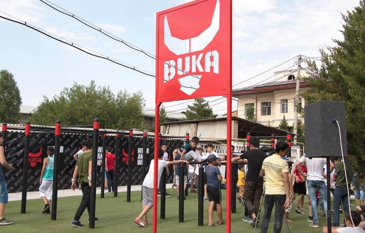 В Ташкенте открыли площадку для занятий уличной гимнастикой