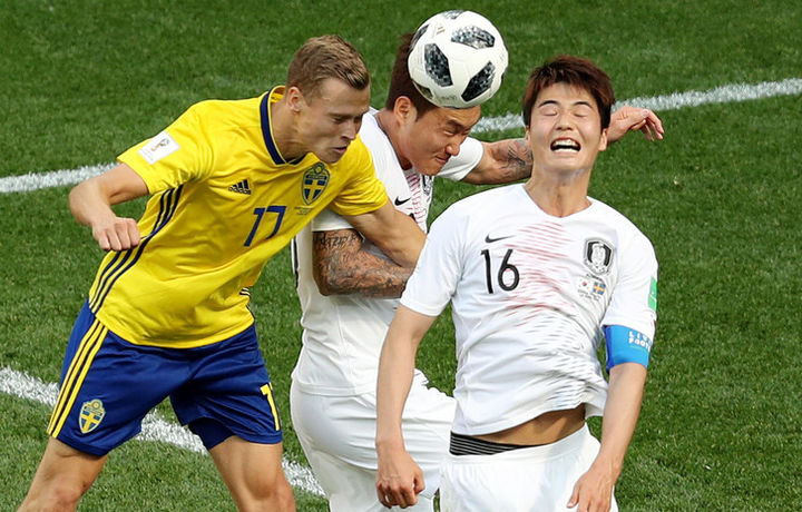 Швеция 1 - 0 Южная Корея