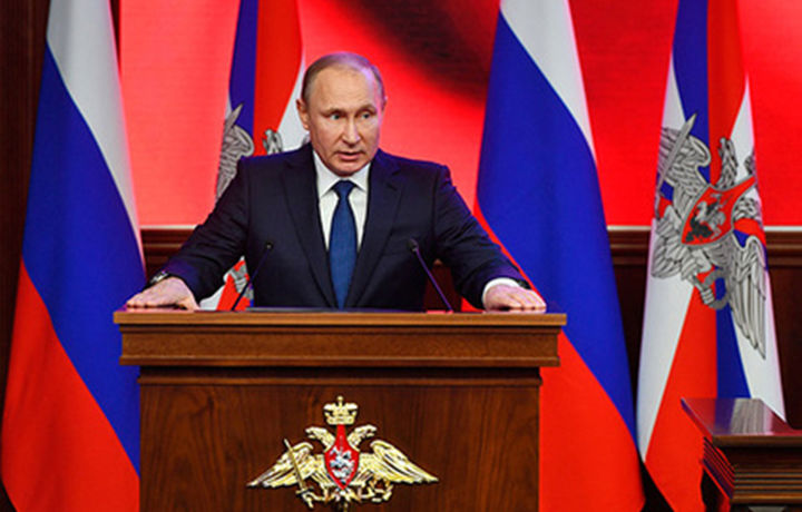 Владимир Путин россиялик спортчилардан узр сўради