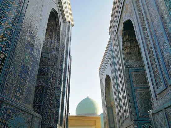 «Шоҳи Зинда»даги «Қусам ибн Аббос» мақбараси гумбазидаги ёриқлар ўрганилади ва бартараф этилади