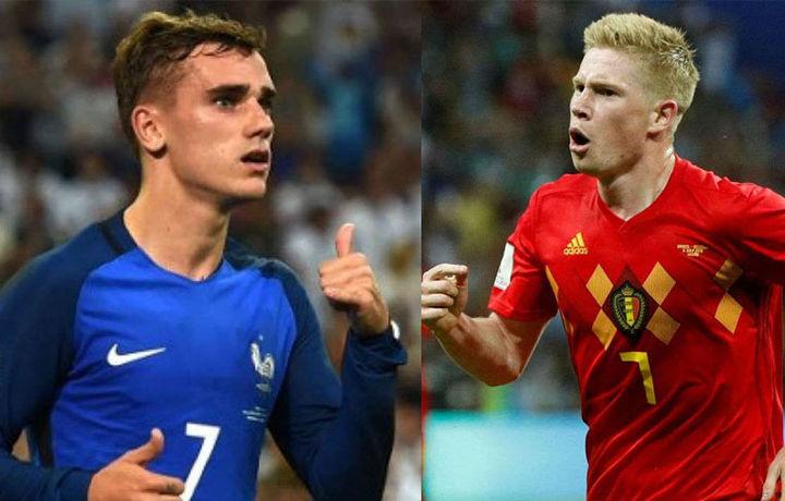 ЖЧ-2018. Франция ва Бельгия жанговар таркибни танлади