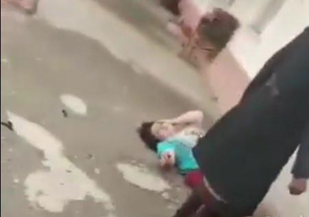 «Ikki nafar qizi bor hamshira ayolni urib sudrashgani» videosiga izoh berildi