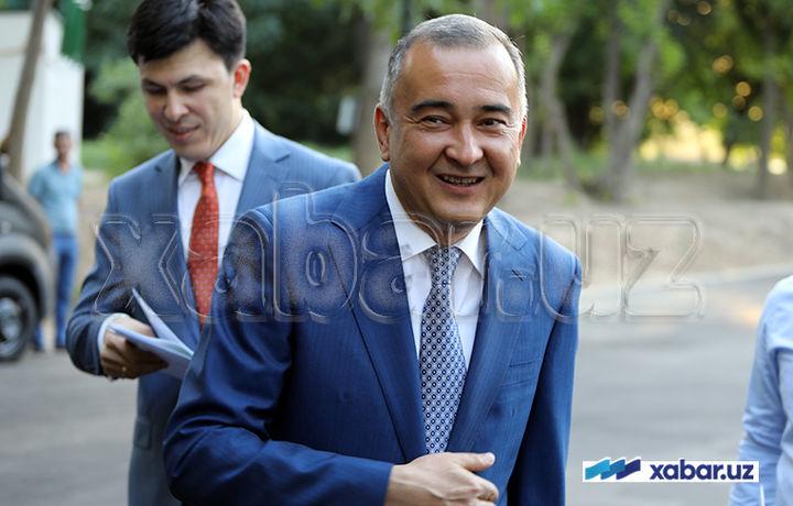 Жаҳонгир Ортиқхўжаев сенатор этиб сайланди