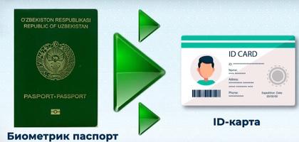 Universal pasport: barcha ma'lumotlar bitta kartada (video)