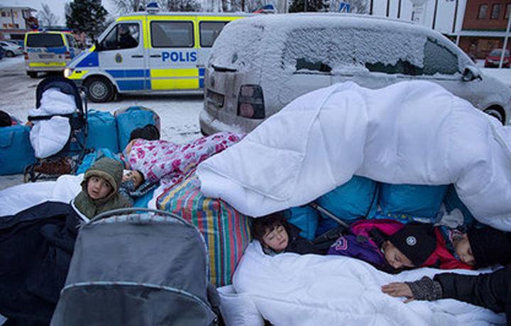 Швецияда минглаб болалар йўқолди
