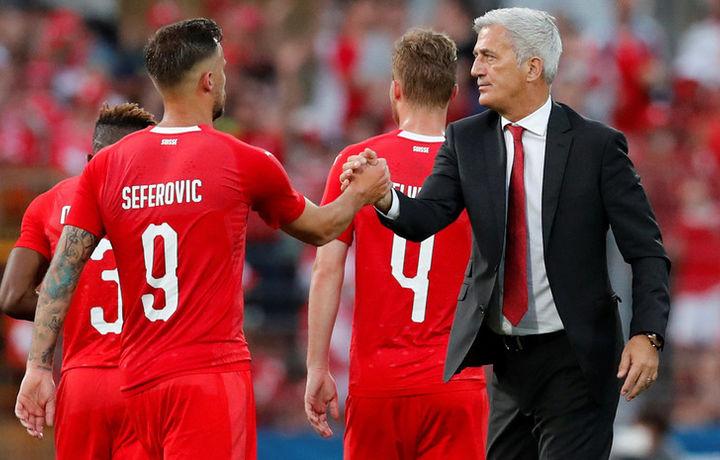 Сборная Швейцарии прилетела в Самару на ЧМ-2018 по футболу