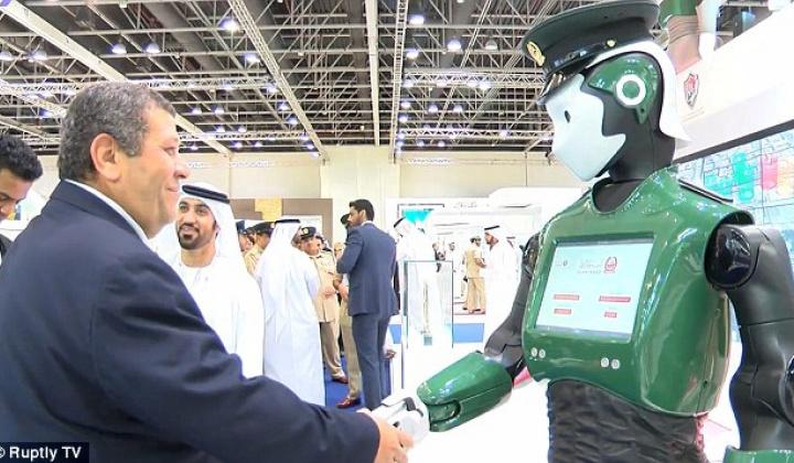 Дубай аэропортида полициячи роботлар пайдо бўлади