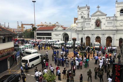 Шри-Ланкадаги портлашлардан 42 киши ҳалок бўлди, 280 киши яраланган