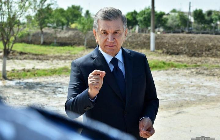 Shavkat Mirziyoyev Sardobaga keldi
