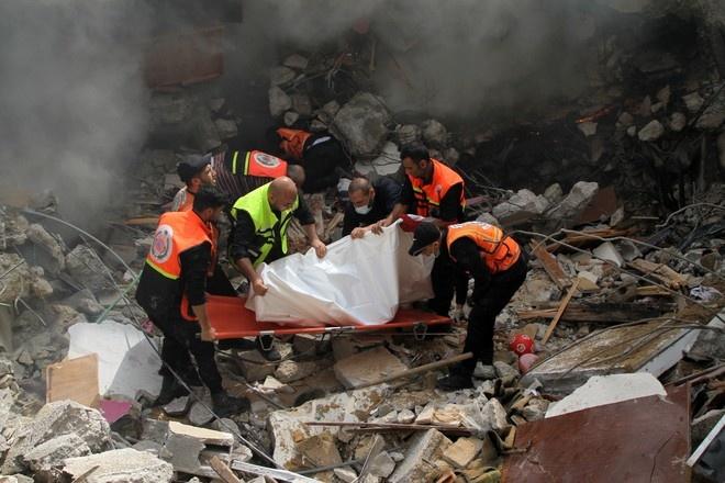 Более 200 палестинцев погибли в результате израильских атак