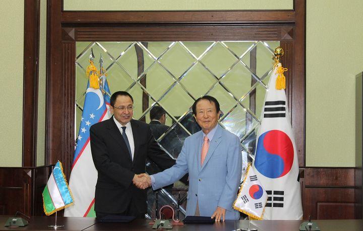 Узбекистан и Южная Корея договорились улучшить торговые отношения
