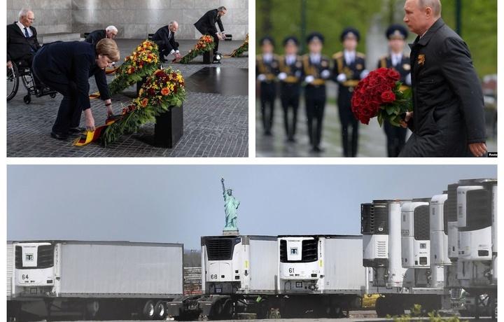 Chilladan chiqqan Putin, boshi egik Merkel va Nyu-York uzra o'lim sharpasi (foto)