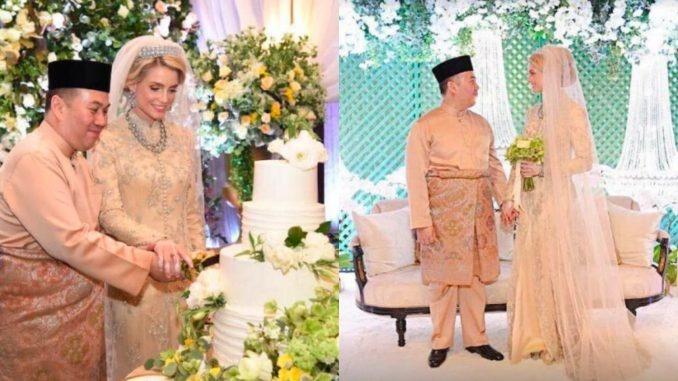 Малайзия шаҳзодаси швед аёлига уйланди