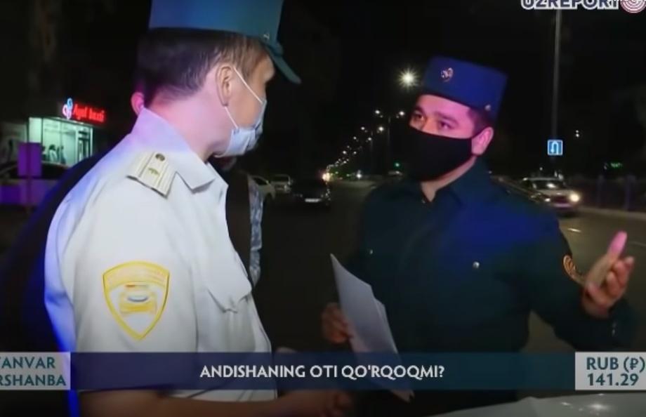 «Ўзрепорт ТВ» ходимига тажовуз бўйича ИИББ ахборот берди
