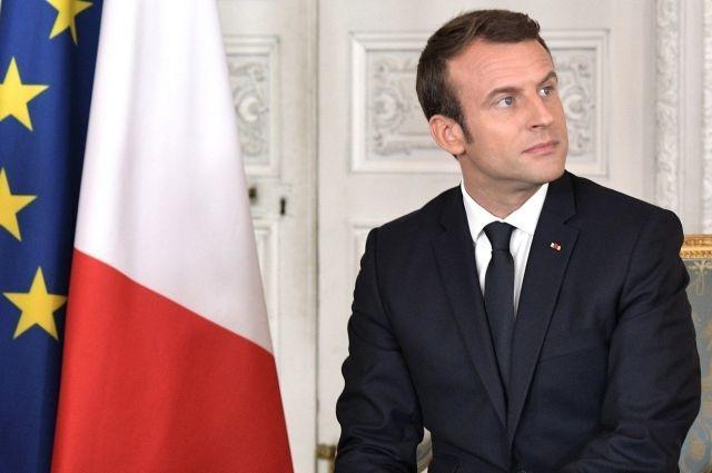 Макрон предложил сделать французский основным языком ЕС после Brexit