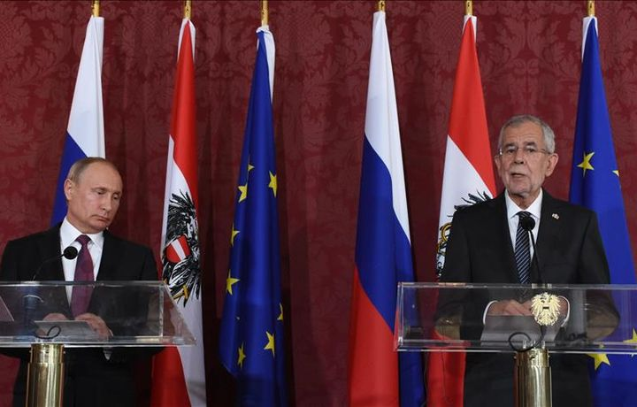 Президенты РФ и Австрии обсудили санкции и газ