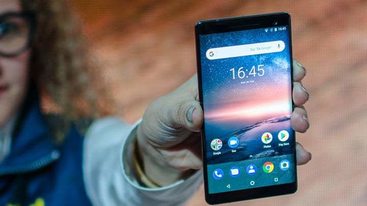 «Nokia» силжувчи камерали ва сканер экранли смартфон чиқаради