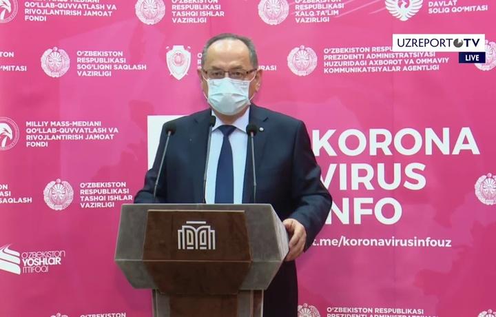 Otabekov: «Karantinga rioya etmaslik oqibati yaxshi bo'lmaydi»