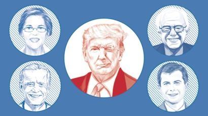 «Трампни мағлуб этиш ва Американи тиклаш»: «Оқ Уй раҳбарлиги иштиёқида ёнаётган» номзодлар кимлар?