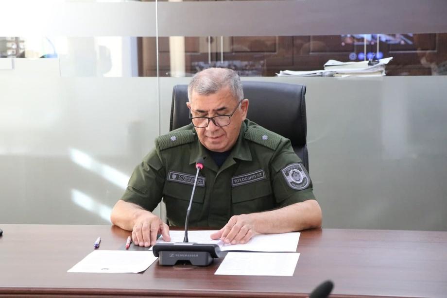 Бош прокурор танқидий руҳда йиғилиш ўтказди