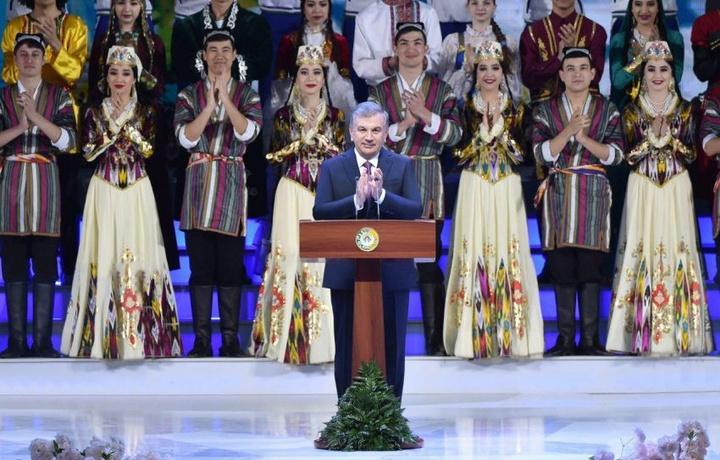 Шавкат Мирзиёев Ўзбекистон халқини Наврўз билан табриклади