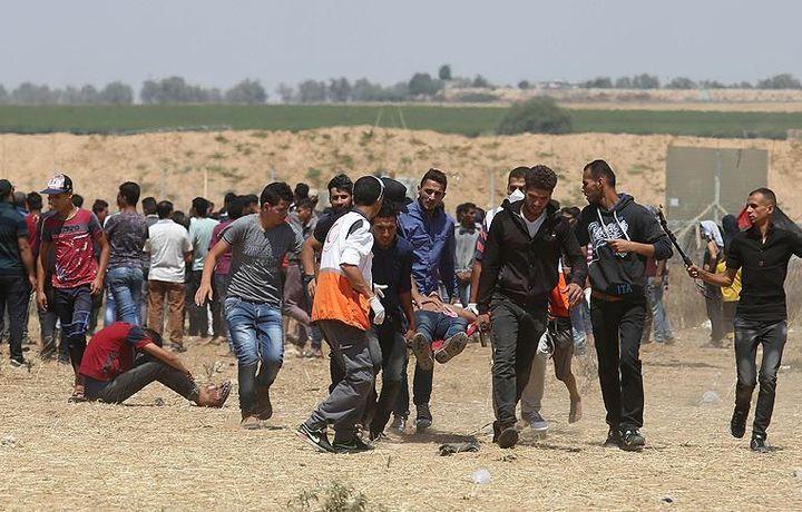 Израильские военные ранили корреспондента Anadolu Agency