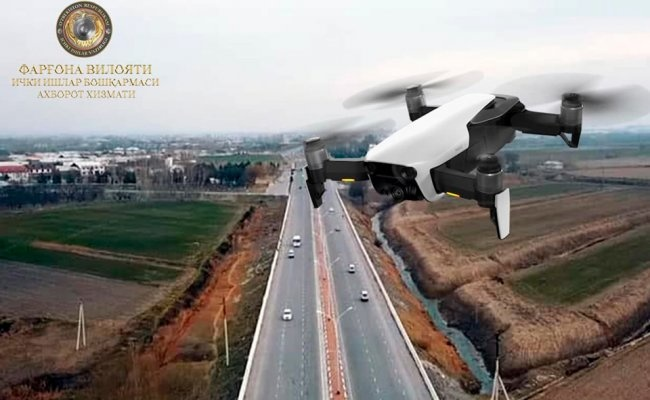 Farg'onada dron aniqlagan qoidabuzarliklarga jarimalar yozish boshlandi