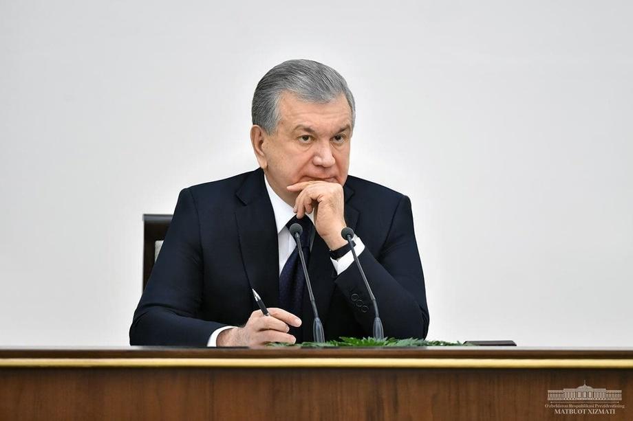 Shavkat Mirziyoyev videoselektor yig'ilishi o'tkazadi