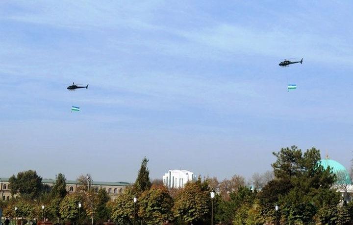 Тошкент осмони узра вертолётлар парвози давом этади