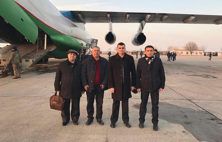 Ҳукумат махсус комиссияси вакиллари Қозоғистонга учиб кетди