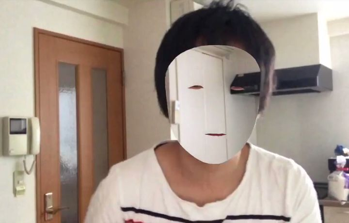 Япониялик дастурчи «iPhone Х» ёрдамида «кўринмас ниқоб» яратди