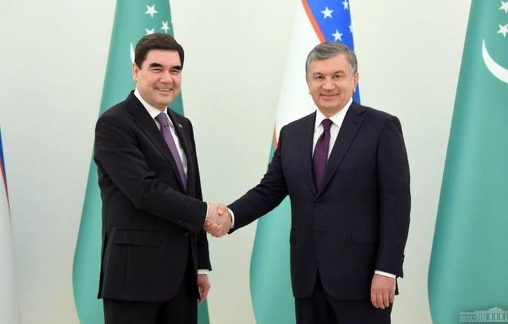 Shavkat Mirziyoyev Turkmaniston prezidentini tabrikladi