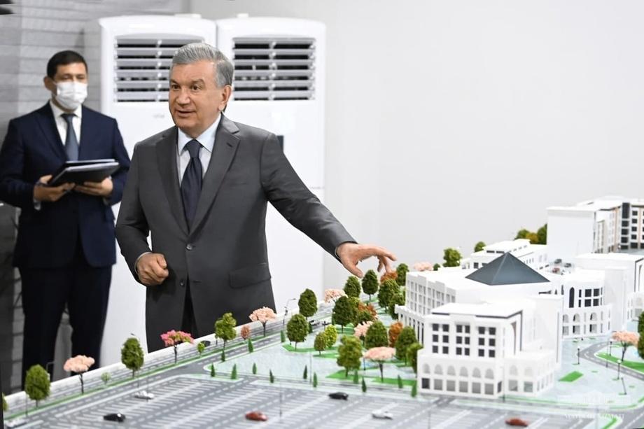 В Термезе построят международный торговый центр