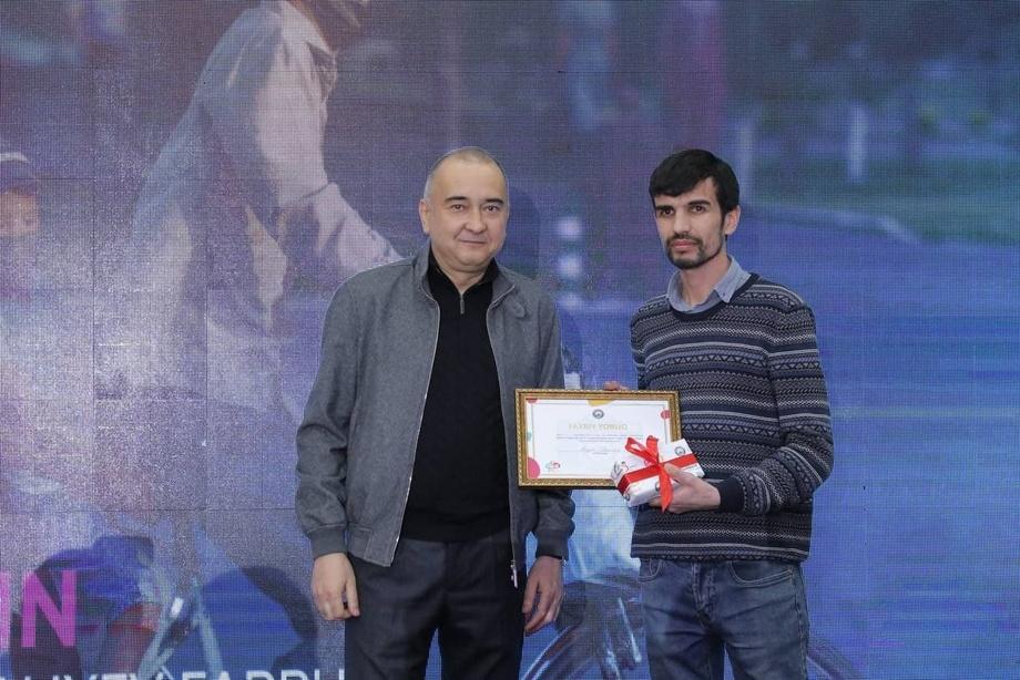 Фаррух Aлиев — Feel Tashkent фототанлови ғолиблари сафида