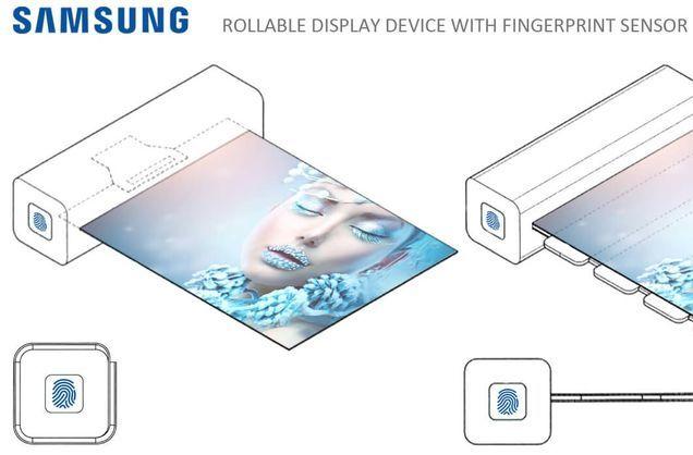 «Samsung» эгилувчан дисплейга эга ғалати қурилмани патентлади