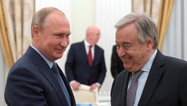 БМТ раҳбари: «Россия БМТнинг муҳим аъзоси»