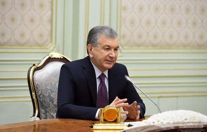 Шавкат Мирзиёев Афғонистон делегациясини қабул қилди