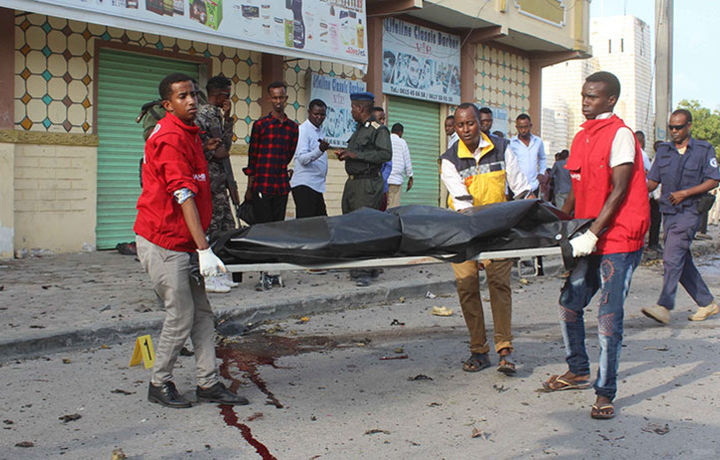 В Сомали прогремели два мощных взрыва