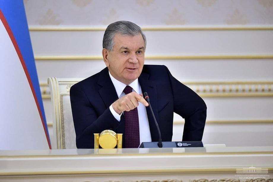 Shavkat Mirziyoyev videoselektor o'tkazmoqda: pandemiya davrida ishlamayotgan 96 mingta korxona o'z faoliyatini tikladi